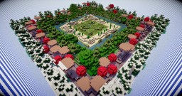 Find The Button: Border Edition Minecraft Map & Project