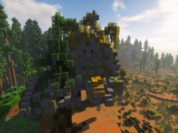 Bergslaforg - ancient mountain giant Minecraft Map & Project