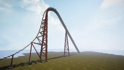 Intiman Giga Coaster, Flyin' Fire! Minecraft
