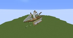 Airship Battle Minecraft Map & Project