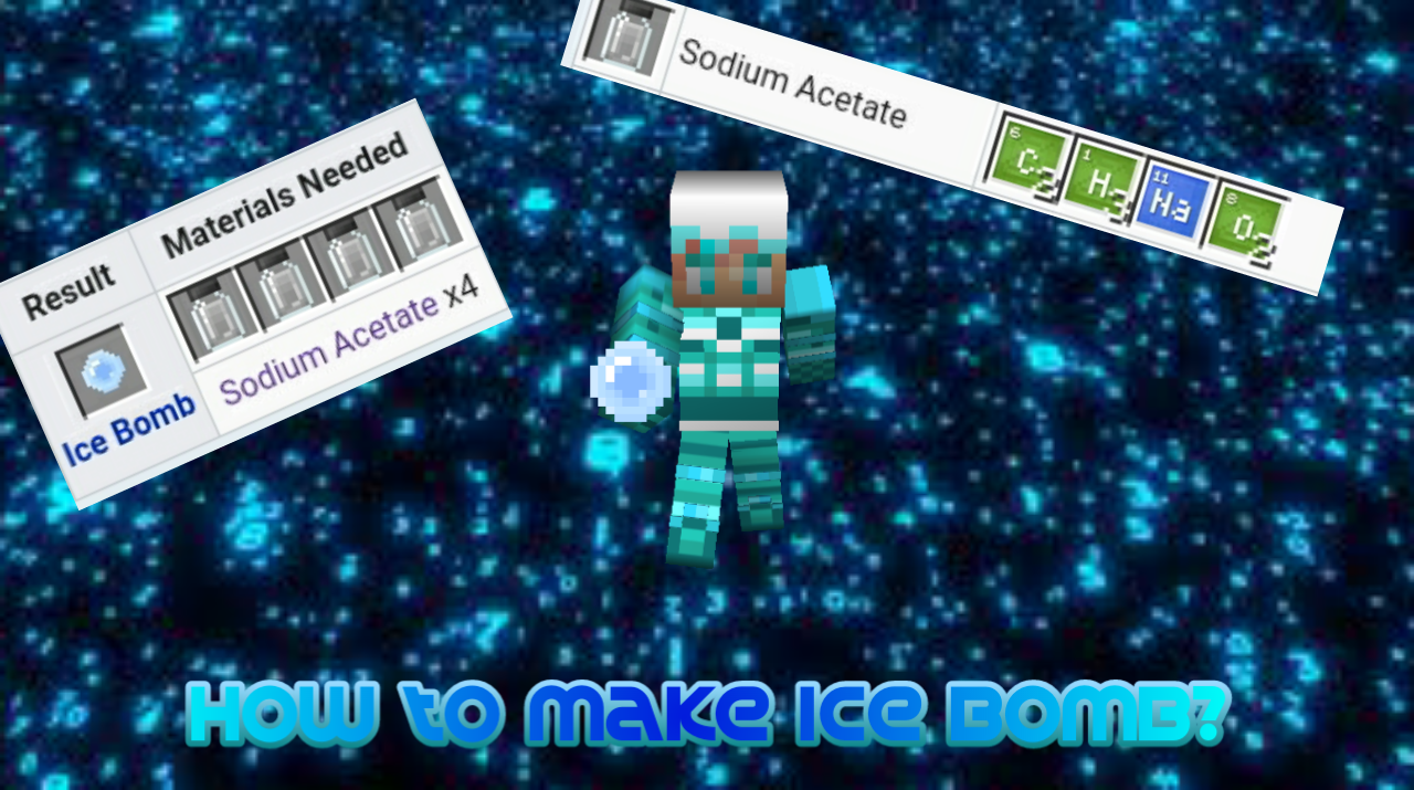 How to make Ice Bomb? Minecraft Tutorial  Minecraft Blog