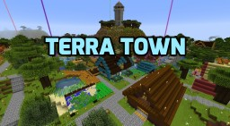 Terra Town Minecraft Map & Project