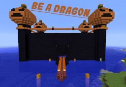 Be A Dragon Custom Map [ADV][PZL] (+ [SURVIVAL]) Minecraft Map & Project