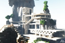 Ultra-Modern Mountain Mansion | Download Minecraft Map & Project