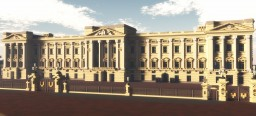 """Buckingham Palace"" From London Minecraft"