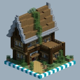Medieval House [CHUNK HOUSE] Minecraft Map & Project