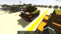 MU 6/III Light Tank prototype - Czechoslovakia Minecraft