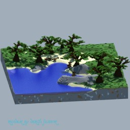 Kashyyyk - Star Wars Battlefront 2 inspired Minecraft Map & Project