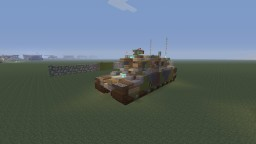 U.S M1 Abrams Main Battle tank Minecraft Map & Project