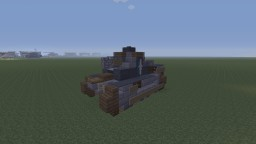 Girls und Panzer, Renault FT-17 light tank, BC Freedom Highschool version Minecraft Map & Project