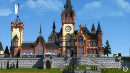 Schloss Drachenburg - The Dragon Castle Minecraft Map & Project