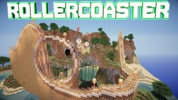 Finny's Roller Coaster. Minecraft Map & Project