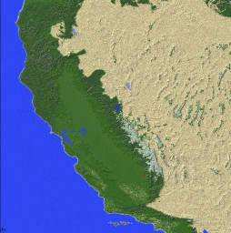 California 1:100 [QUICKMAP] Minecraft Map & Project