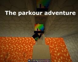 The parkour adventure Minecraft Map & Project