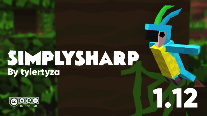 Popular Texture Pack : 💎 SimplySharp HD | MC 1.12.2 | 512x/256x/128x/64x/32x/16x | 100% Complete