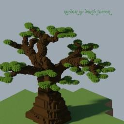 Wroshyr Tree Schematic Minecraft Map & Project