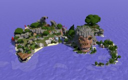 Isla de Macaca Minecraft Map & Project