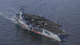 3:1 Scale Modern Aircraft Carrier Minecraft Map & Project