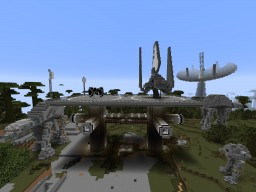 Empire Strikes Block: Endor Minecraft