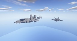Lockheed Martin F-35 Lightning II Fighter Jet + Download Minecraft Map & Project