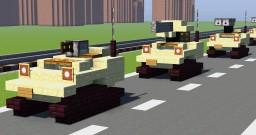 German Tank WIESEL Minecraft Map & Project