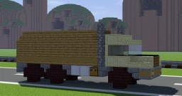 Military Truck Minecraft Map & Project