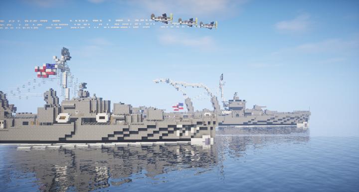Nice view of both ships