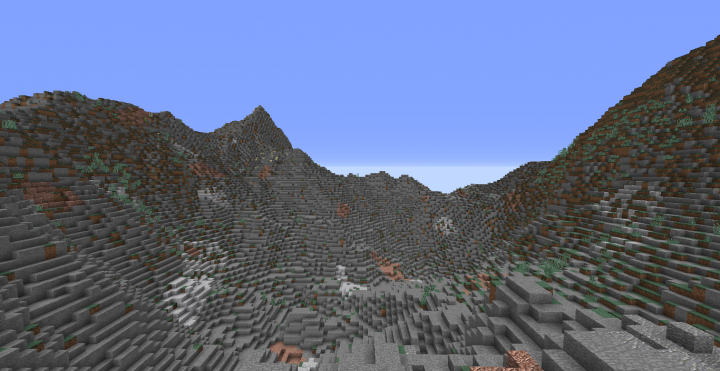 And some more mountains.