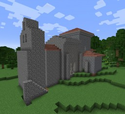 Iglesia de Santiago de Peñalba, Escala 1:1 Minecraft Map & Project