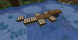 Alligator eating fish [1.13+] Minecraft Map & Project