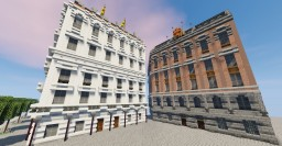 Neo-renaissance city buildings Minecraft Map & Project