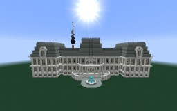 Fancy Mansion Minecraft Map & Project