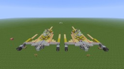 Naboo N-1 starfighter Minecraft Map & Project