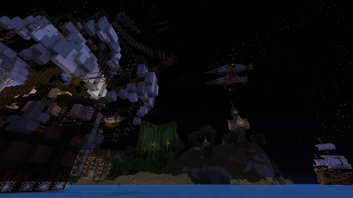 that Ship on left is Schematic from TheBigBaron and the ship on the right is my own design
