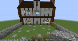 House in the Godric Hallow Minecraft Map & Project