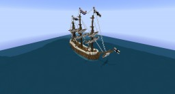 VOC Ship / Fluyt / The Gwynbleidd Minecraft Map & Project