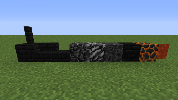 Black Nether Blocks
