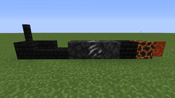 Black Nether Blocks New Textures Edition