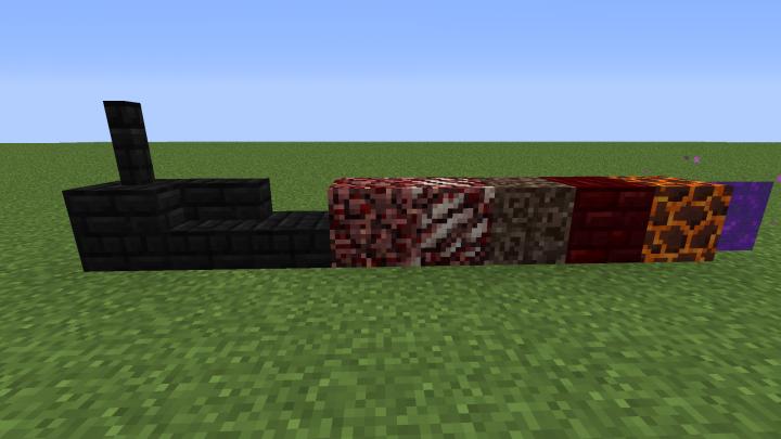 Black Nether Bricks
