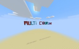 Multi course Run Minecraft Map & Project