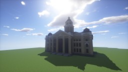 Classical Revival Courthouse Minecraft Map & Project