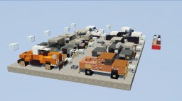 Kwaysar's Pick-Up Trucks Pack | 10 Vehicles | Version 1.0 Minecraft Map & Project