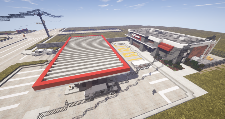 Popular Project : Gas Station - Carlton | BPS