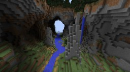 Glide Minigame Cavern Map - WITH COMMAND BLOCKS! Minecraft Map & Project