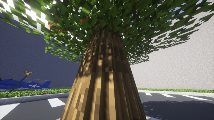 Popular Texture Pack : Round Trees - MC Vanilla 1.8 - 1.13 | BUGFIXES! | NEW BARK BLOCKS!