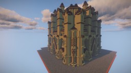 Westminster Abbey based Spawn Minecraft Map & Project