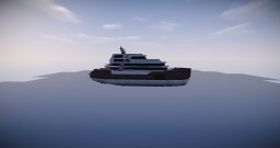 Modern Super Yacht Minecraft Map & Project