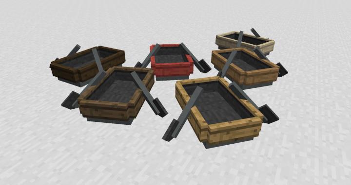 Custom boats - great for racing on ice tracks!