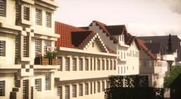 Hohentorstraße, Kassel, Germany Minecraft Map & Project