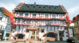 Deutsches Goldschmiedehaus, Hanau, Germany. Minecraft Map & Project